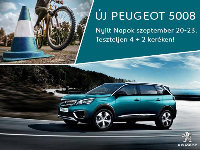 Peugeot Nyílt Napok 4+2 keréken!